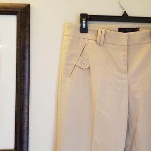 Laundry by Shelli Segal Pinstriped Dress Pants